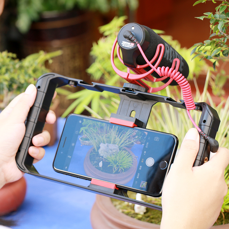 Smartphone Video Rig Stabilizer Grip
